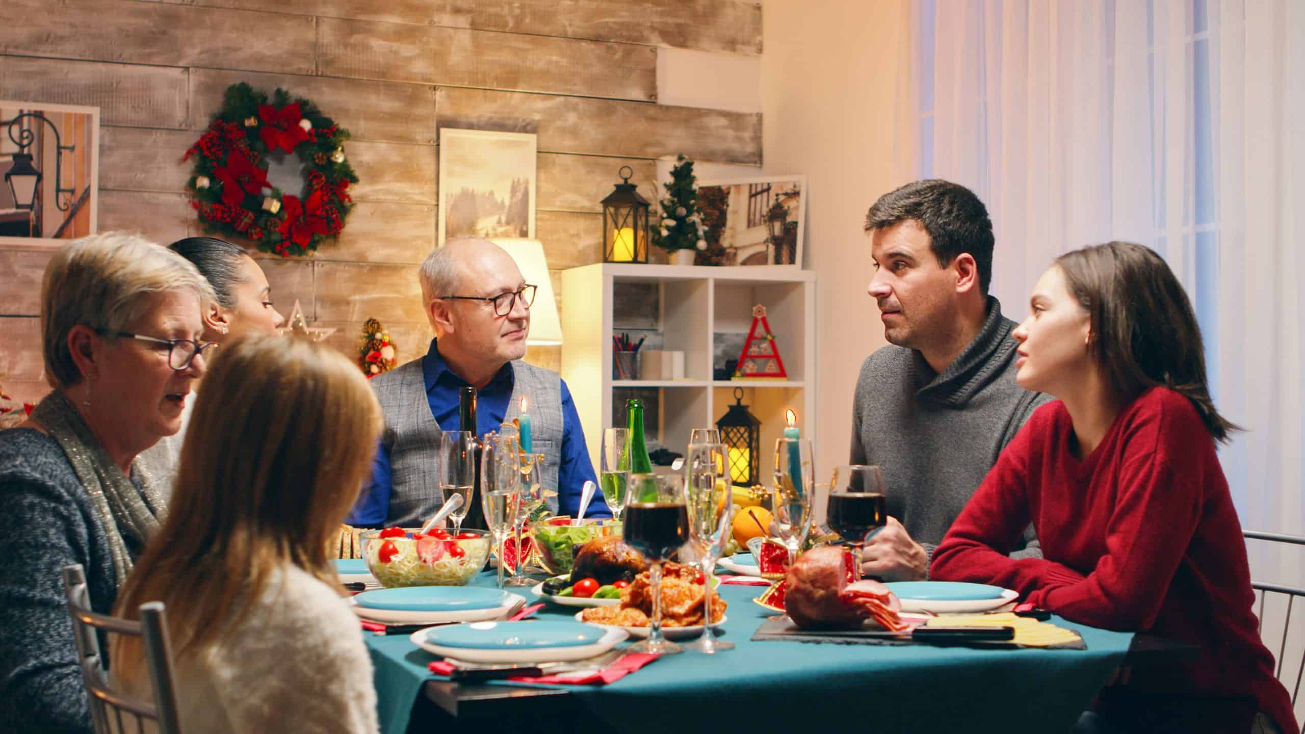 Advice On Holiday Stress family dinner arcarapsychiatry.com Arcara Psychiatry in Boston and Westborough